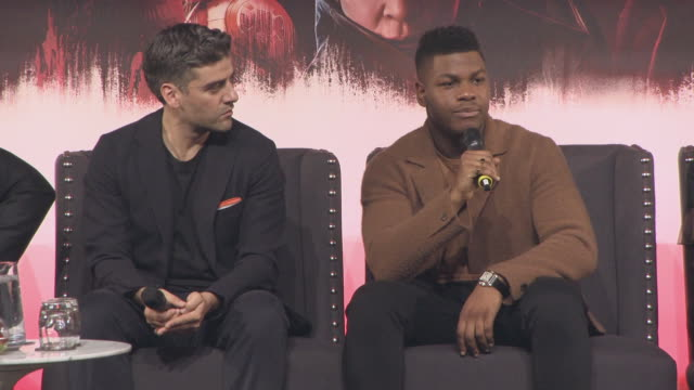 INTERVIEW John Boyega on not taking the cast and crew to the old Kent road Harrison Ford paying for the food bill Daisy Ridley not coming to John's...