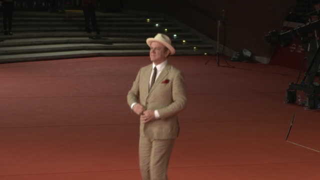 john c reilly at stan ollie red carpet arrivals 13th rome film fest on october 24 2018 in rome italy - rome film fest stock videos and b-roll footage