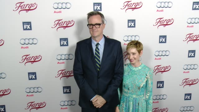 john cameron at fx's fargo los angeles premiere at arclight cinemas on october 07 2015 in hollywood california - arclight cinemas hollywood stock videos & royalty-free footage