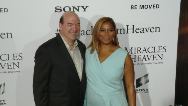 john carroll lynch and queen latifah at miracles from heaven los angeles premiere at arclight cinemas on march 09 2016 in hollywood california - arclight cinemas hollywood stock videos & royalty-free footage