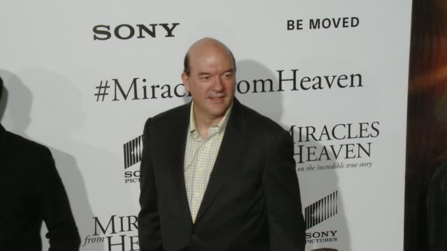 john carroll lynch at miracles from heaven los angeles premiere at arclight cinemas on march 09 2016 in hollywood california - arclight cinemas hollywood stock videos & royalty-free footage