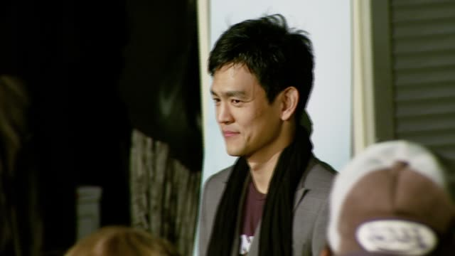 john cho at the 'the air i breathe' premiere at arclight cinemas in hollywood, california on january 15, 2008. - arclight cinemas hollywood stock videos & royalty-free footage