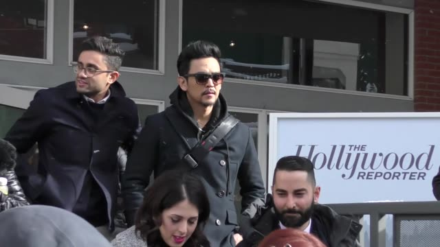 John Cho on Main Street at the Sundance Film Festival in Celebrity Sightings in Park City UT