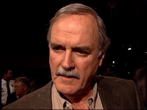 john cleese at the 'heartbreakers' premiere at the el capitan theatre in hollywood california on march 19 2001 - john cleese stock videos & royalty-free footage