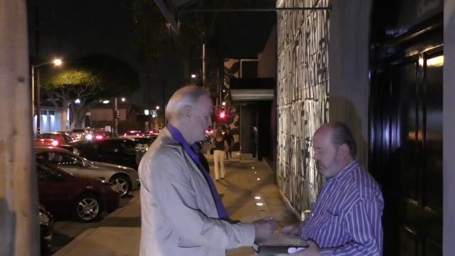 john cleese outside craig's restaurant in west hollywood on october 09 2017 at celebrity sightings in los angeles - john cleese stock videos & royalty-free footage