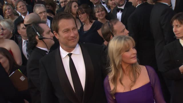 john corbett and bo derek at 84th annual academy awards arrivals on 2/26/12 in hollywood ca - john corbett stock videos and b-roll footage