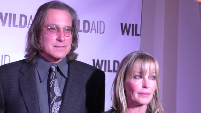 john corbett and bo derek at the wildaid 2015 gala at the montage hotel in beverly hills at celebrity sightings in los angeles on november 07 2015 in... - john corbett stock videos and b-roll footage