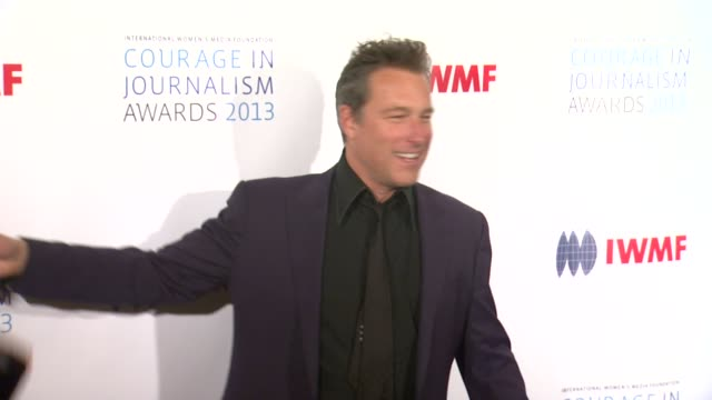 john corbett at 2013 international women's media foundation's courage in journalism awards in beverly hills ca on - john corbett stock videos and b-roll footage