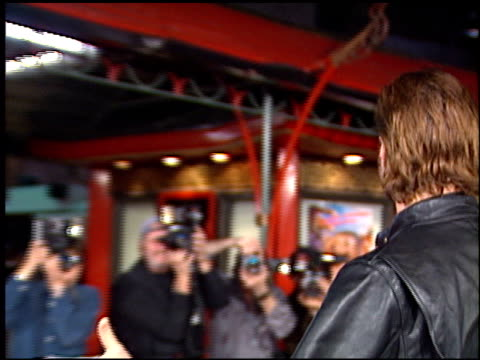 john corbett at the 'biodome' premiere at grauman's chinese theatre in hollywood california on january 11 1996 - john corbett stock videos and b-roll footage