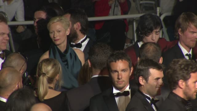 John CReilly and Tilda Swinton at the 'We Need To Talk About Kevin' Premiere during the 64th Cannes Film Festival at the We Need to Talk About Kevin...