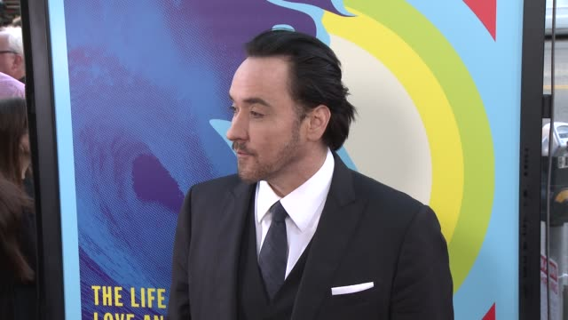 john cusack at the love mercy los angeles premiere at ampas samuel goldwyn theater on june 02 2015 in beverly hills california - samuel goldwyn theater stock videos & royalty-free footage