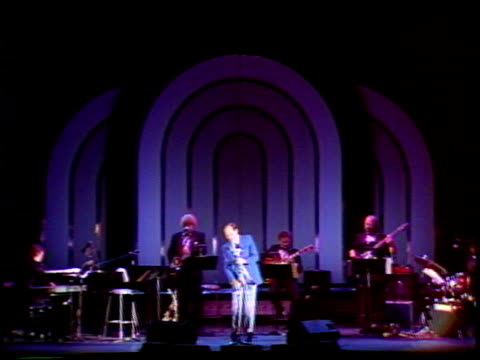 john dankworth at the cleo laine at the hollywood bowl at hollywood bowl in los angeles, california on august 30, 1989. - john dankworth stock videos & royalty-free footage