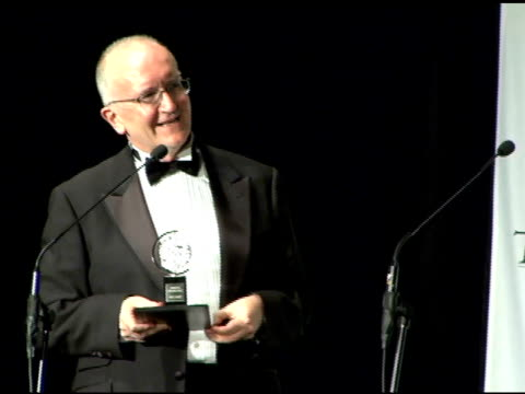 John Doyle winner Best Direction of a Musical for 'Sweeney Todd' on his 10th anniversary and social mores being different in England at the 60th...