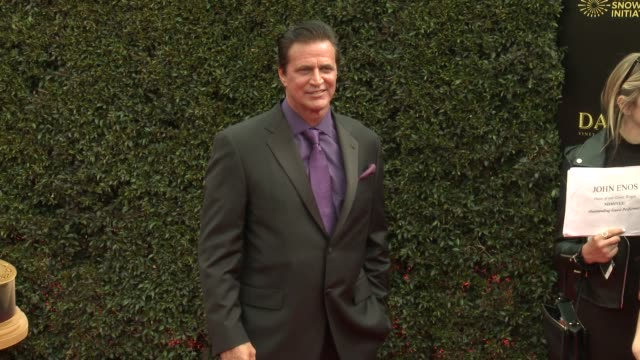 John Enos at the 2018 Daytime Emmy Awards at Pasadena Civic Auditorium on April 29 2018 in Pasadena California