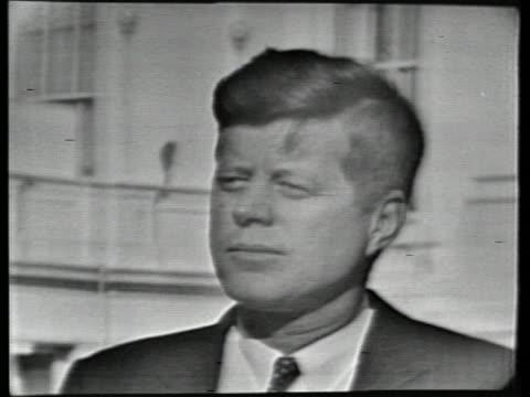 john f. kennedy talks about john glenn's orbit of the earth. - john f. kennedy us president stock videos & royalty-free footage