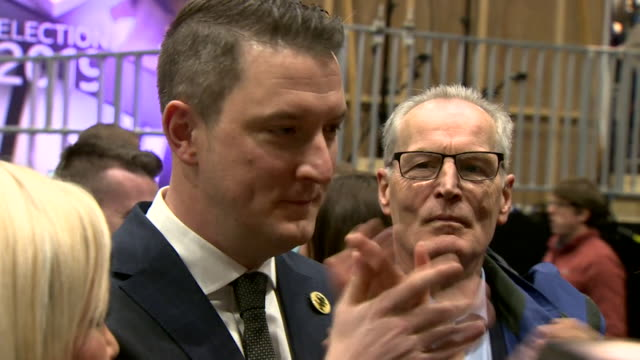john finucane mp winning the seat in belfast north in the general election - patriotism stock videos & royalty-free footage