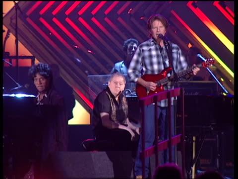John Fogerty rehearsing for the Grammys
