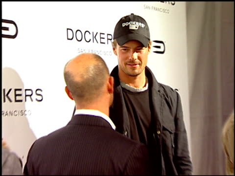 John Goodman and Josh Duhamel at the Dockers Final Round at NULL in Los Angeles California on February 9 2008