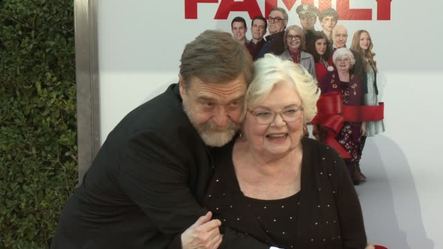 john goodman and june squibb at the park at the grove on november 12, 2015 in los angeles, california. - the grove los angeles stock-videos und b-roll-filmmaterial