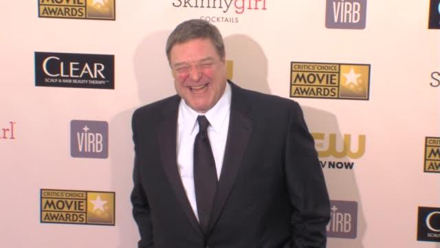 john goodman at 18th annual critics' choice movie awards 1/10/2013 in santa monica, ca. - critics' choice movie awards stock videos & royalty-free footage