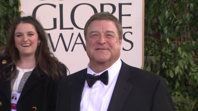 John Goodman at 70th Annual Golden Globe Awards Arrivals 1/13/2013 in Beverly Hills CA