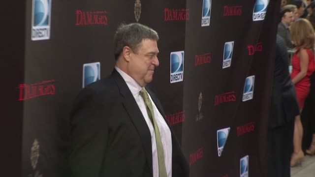 john goodman at the 'damages' season 4 premiere at new york ny - damages television show stock videos and b-roll footage