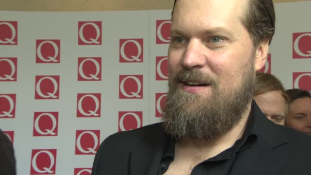 INTERVIEW John Grant on being at the awards at Q Awards 2013 at The Grosvenor House Hotel on October 21 2013 in London England
