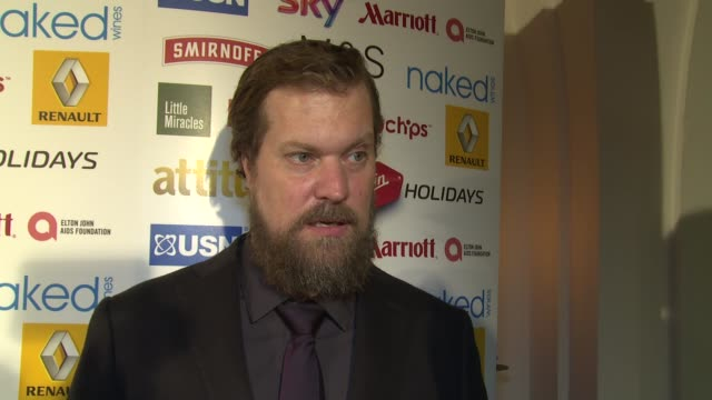 INTERVIEW John Grant on the awards future work and gay attitudes at the Attitude Magazine Awards on 13th October 2014 in London England