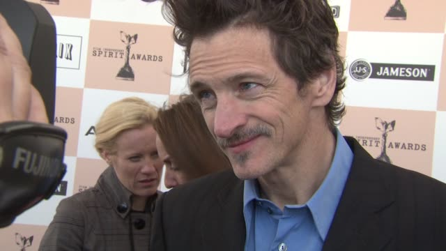 john hawkes at the piaget at the 2011 independent spirit awards at santa monica ca. - independent feature project stock videos & royalty-free footage