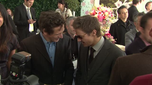 john hawkes, jeremy renner at the piaget at the 2011 independent spirit awards at santa monica ca. - independent feature project stock videos & royalty-free footage