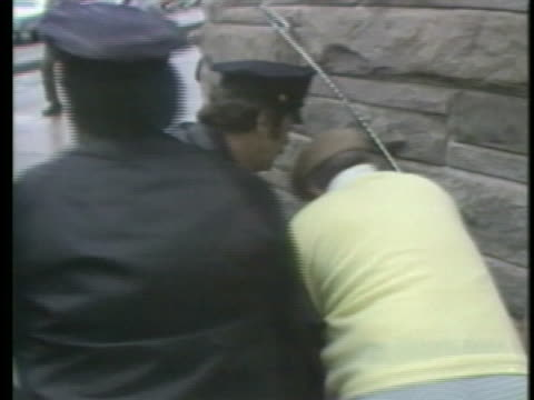 john hinckley attempts to assassinate united states president ronald reagan. - crime or recreational drug or prison or legal trial stock videos & royalty-free footage