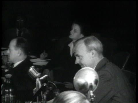 john howard lawson testifying before huac / washington dc, united states - court hearing stock videos & royalty-free footage