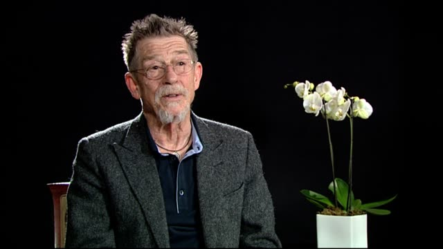 John Hurt on working with Billy Bob Thornton at Jayne Mansfield's Car Interview 62nd International Berlin Film Festival 2012 at on February 14 2012...