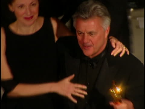 john irving at the academy awards vanity fair at mortons west hollywood in west hollywood ca - オスカーパーティー点の映像素材/bロール