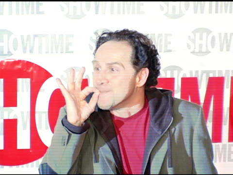 john kassir of 'reefer madness' at the star-studded tca press tour party hosted by showtime at universal studios in universal city, california on... - ショータイム点の映像素材/bロール