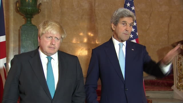 john kerry saying we are pursuing diplomacy because those are the tools we have and that there is no appetite for war in europe - diplomacy stock videos & royalty-free footage