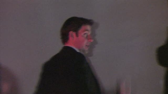 john krasinski at pre oscar party in bel air at the celebrity sightings in los angeles at los angeles ca - oscar party stock-videos und b-roll-filmmaterial