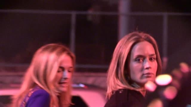 john krasinski emily blunt depart hollywood 12/12/12 - john krasinski stock videos & royalty-free footage