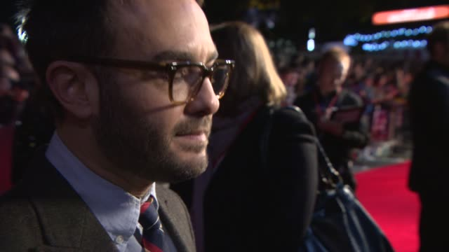 john krokidas on how the idea for the film, on daniel radcliffe, the beatnik generation, the onscreen chemistry at 'kill your darlings' red carpet on... - beatnik stock videos & royalty-free footage