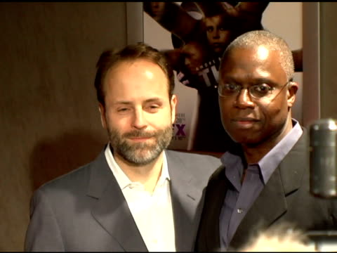 john landgraf, president of entertainment, f/x network and andre braugher at the 'thief' los angeles premiere on march 21, 2006. - fx network stock videos & royalty-free footage