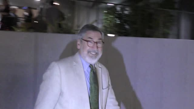 John Landis Max Landis outside the Cult of Chucky Premiere at Harmony Gold Theatre in West Hollywood in Celebrity Sightings in Los Angeles
