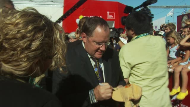 John Lasseter at the John Lasseter Golden Lion Red Carpet Venice Film Festival 2009 at Venice