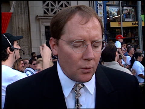john lasseter at the 'toy story 2' premiere at the el capitan theatre in hollywood california on november 13 1999 - el capitan theatre stock videos & royalty-free footage