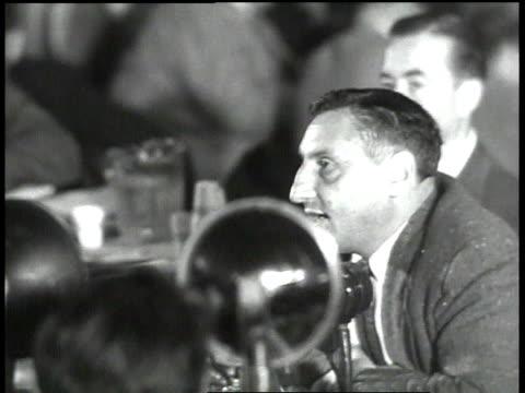 john lawson names some of the films he has created - 反共産主義デモ点の映像素材/bロール