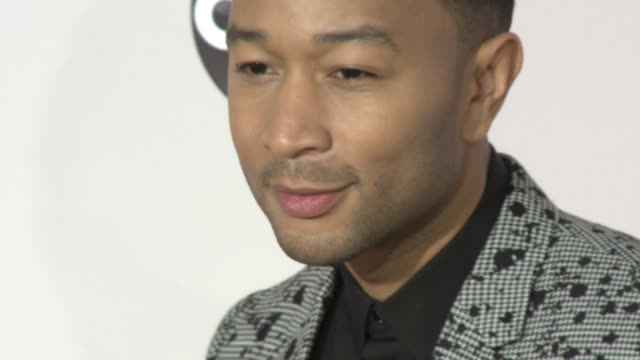 john legend at 2016 american music awards at microsoft theater on november 20 2016 in los angeles california - 2016 american music awards stock videos and b-roll footage