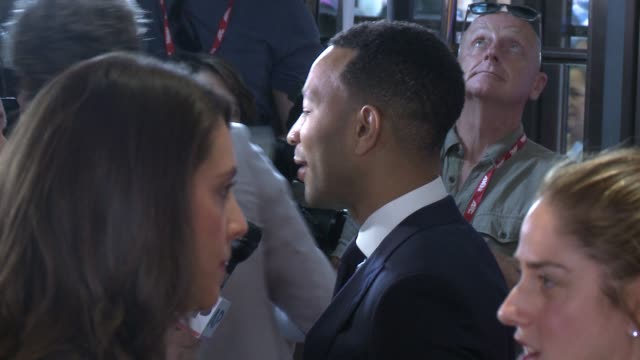 john legend at princess of wales theatre on september 12 2016 in toronto canada - toronto international film festival stock videos and b-roll footage