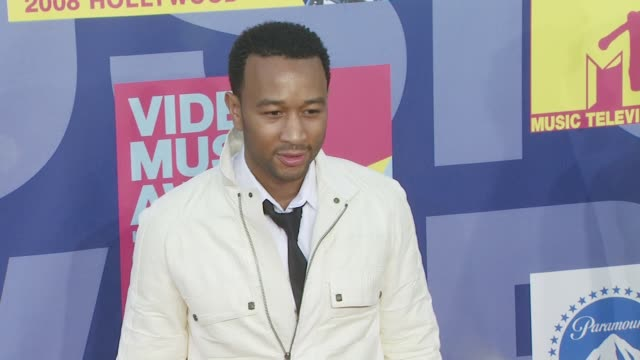 John Legend at the 2008 MTV Video Music Awards at Los Angeles CA