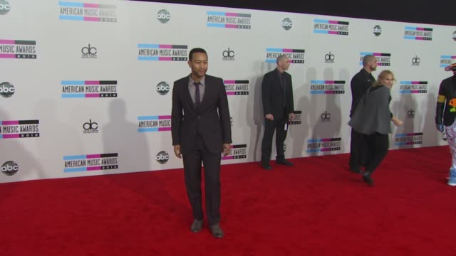 john legend at the 2010 american music awards arrivals at los angeles ca - american music awards stock videos and b-roll footage