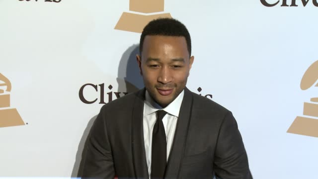 stockvideo's en b-roll-footage met john legend at the 2016 pregrammy gala and salute to industry icons honoring irving azoff at the beverly hilton hotel on february 14 2016 in beverly... - irving azoff