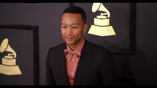 John Legend at the 59th Annual Grammy Awards Arrivals at Staples Center on February 12 2017 in Los Angeles California 4K